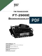 Yaesu FT 2900E