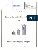 Installation Instructions Variable Spring Hangers