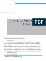 8 CHAPITRE VIII Presentation Robot