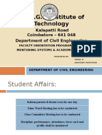 Mentoring Systems & Academic Activities