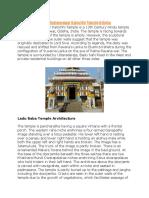 Ladu Baba Temple Bhubaneswar Kainchhi Temple Odisha.docx