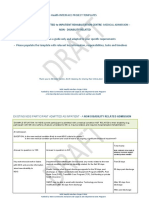 draft preplanning template for discharge existing ndis support  with new medical condition
