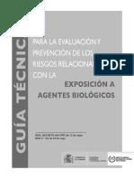 Guía Técnica sobre Agentes biológicos