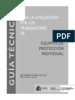 Guía Técnica de Equipos de Protección Individual