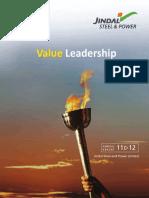 Value Leadership | Jindal Steel & Power Limited