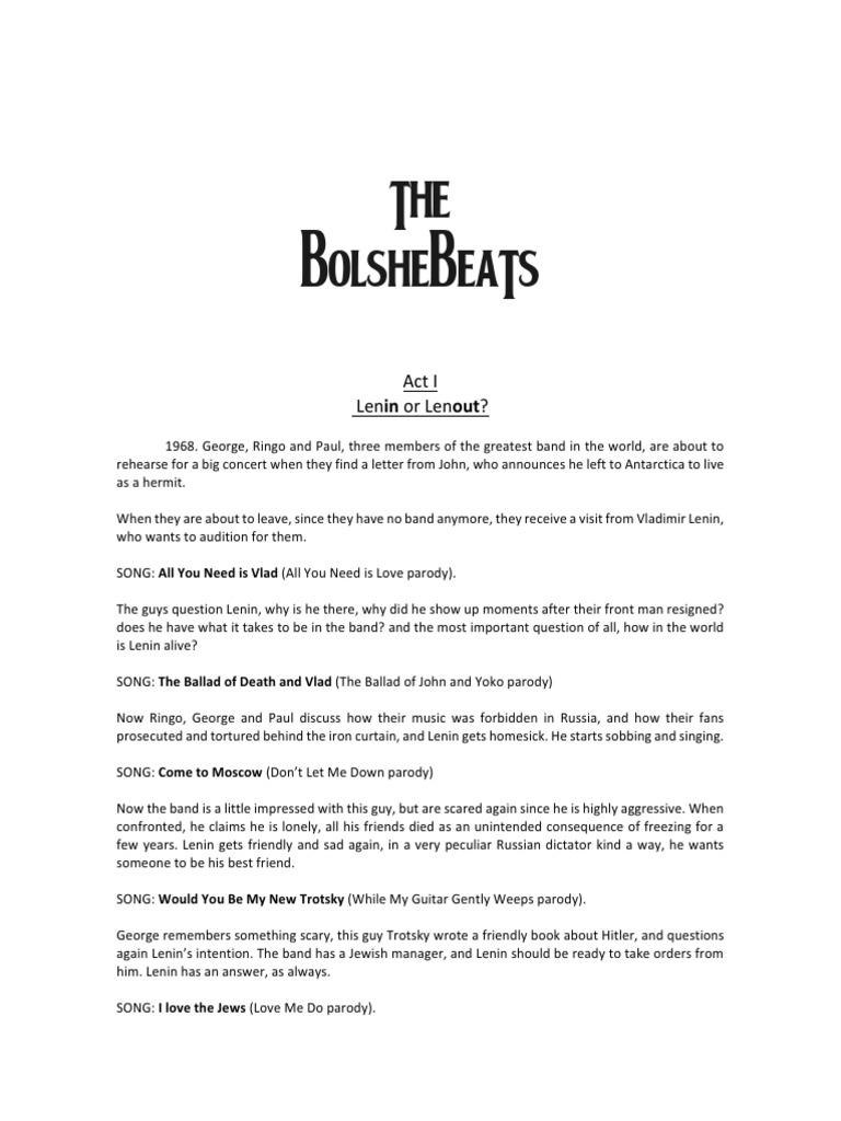 The Bolshebeats Synopsis | Ringo Starr | Vladimir Lenin