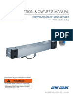 411-254-0EI Hydraulic EdgeofDock InstallationOwnersManual