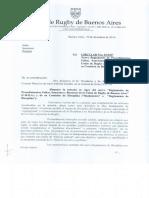 """""""Reglamento de Procedimientos, Faltas, Sanciones y Recursos de la Unión de Rugby de Buenos Aires y de su Comisión de Disciplina"""""""