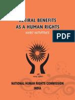 Retiral Benefits as a Human Rigts NHRC Initatives_2014