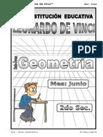3. Junio – Geometría - 2do