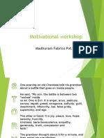 Motivation Workshop