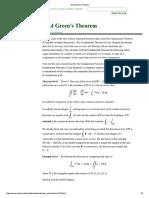 16.4 Green's Theorem