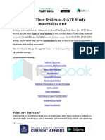 Types of Time Systems - GATE Study Material in PDF