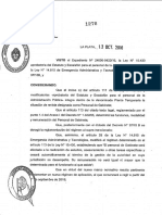 """El Decreto 1278  """"Secreto"""" de María Eugenia Vidal"""