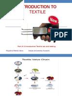 Lec 24-26 Introduction to Textile Lab