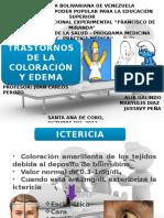 trastornosdelacoloracionyedema-140117102403-phpapp01