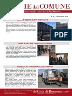 Notizie Dal Comune di Borgomanero del 29 Dicembre 2016