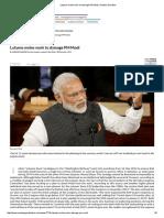 Lutyens Moles Work to Damage PM Modi _ Sunday Guardian