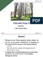 15 Biomass