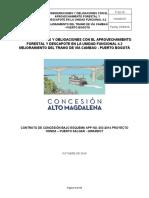 Consideraciones y Obligaciones Con El Aprovechamiento Forestal y Descapote UF 4-2