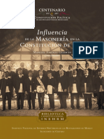 Consititucion 1917 y Masoneria PDF WEB