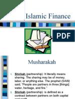 Fi Qh of Islamic Finance