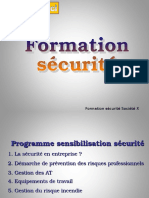 Formation Securite