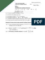 0 Cls. 8 Test Intervale