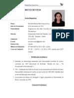 CURRICULUM VITAE - Micaela Casaca Sécio