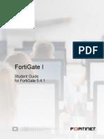 FortiGate I Student Guide-Online V4