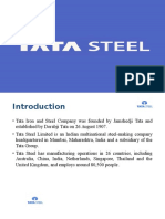 Tata Steel PPT Final