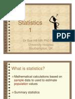 Basic Statistics - Hill