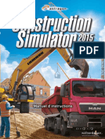 Construction Simulator 2015 FRA Booklet STEAM