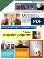 Amigos de Padre Pio Diciembre 2016