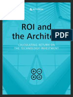 ROI and the Architect