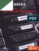 El hombre que invento Manhattan - Ray Loriga.pdf