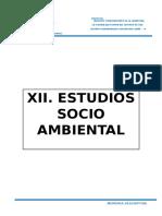 Capitulo Xii Estudios Socio Ambientales