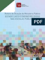 CNMP - Roteiro Atuação Ensino Religioso Nas Escolas Públicas - 2016