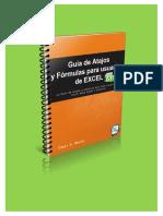 La Guía de Atajos y Formulas en Excel