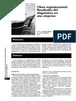 PDF Clima Organizacional