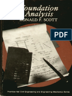 Foundation Analysis - Scott