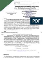 Influencia de Los Juegos Predeportivos en La Preparación Teórica y Técnico-táctica de Karatecas Infantiles