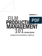 PDF Sample of Film Production Management 101-2nd edition