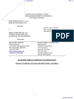 Eight Mile Style, LLC et al v. Apple Computer, Incorporated - Document No. 43