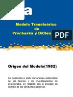 Modelo Transteorico de Prochaska y Diclemente