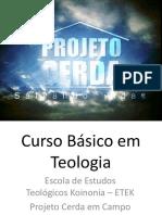Aula 01 - Bibliologia