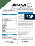Boletín Oficial de la República Argentina, Número 33.531. 28 de diciembre de 2016