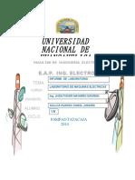 Informe Del Lab de Maquinas Electricas-karol