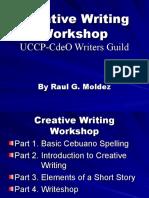 Cebuano Creative Writing