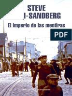 El Imperio de Las Mentiras - Steve Sem Sandberg
